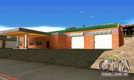 Nova garagem em San Fierro para GTA San Andreas segunda tela