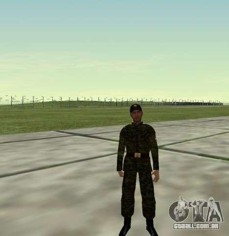 Caça do Exército russo v 2.0 para GTA San Andreas