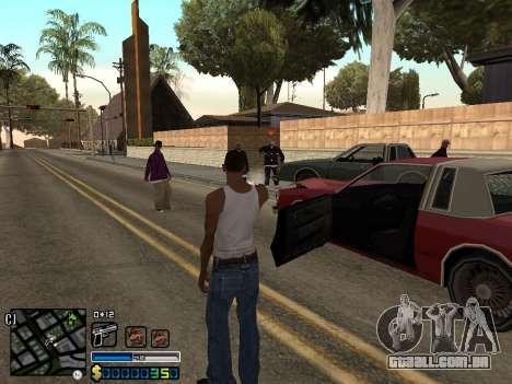 C-HUD By Stafford para GTA San Andreas quinto tela