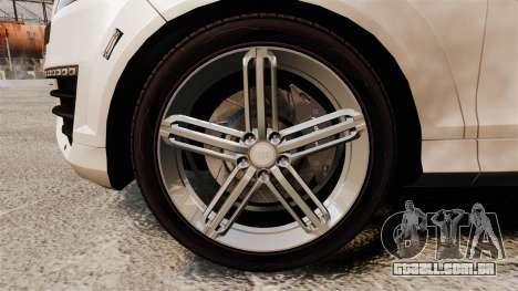 Audi Q7 FCK PLC [ELS] para GTA 4 vista de volta