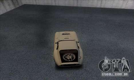 Shelby Cobra Daytona para GTA San Andreas vista direita