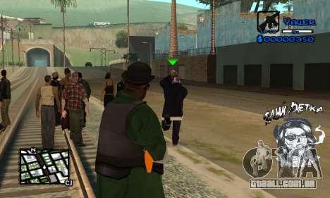 C-HUD Tawi Detka para GTA San Andreas terceira tela