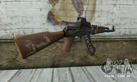Point Blank AK47 Elite para GTA San Andreas segunda tela