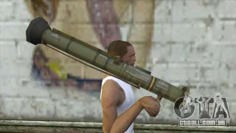AT4 Rocket Launcher para GTA San Andreas terceira tela