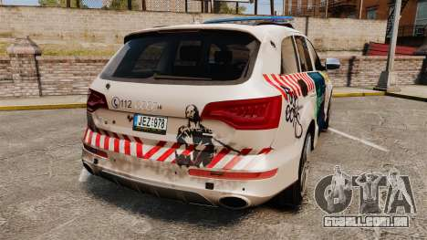 Audi Q7 FCK PLC [ELS] para GTA 4 traseira esquerda vista