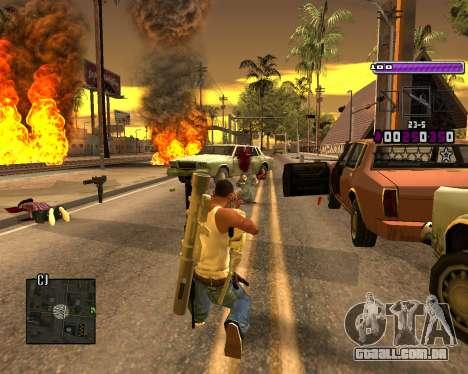 C-HUD Lite v3.0 para GTA San Andreas terceira tela
