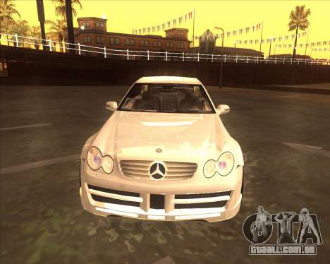 Mercedes CLK 500 из NFS Most Wanted para GTA San Andreas esquerda vista