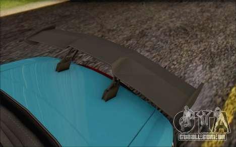 Honda S2000, Turquia para GTA San Andreas vista traseira