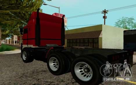 JoBuilt Caminhão Fixet из GTA 5 para GTA San Andreas esquerda vista