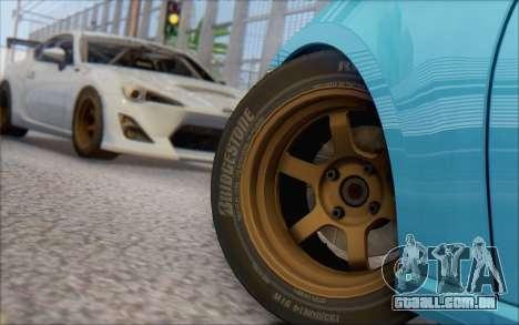 Scion FR-S 2013 Beam para GTA San Andreas esquerda vista