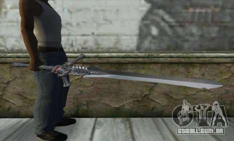 DMC 4 Rebelion para GTA San Andreas terceira tela