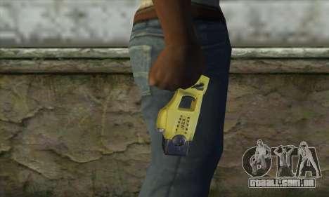 Taser Gun para GTA San Andreas terceira tela