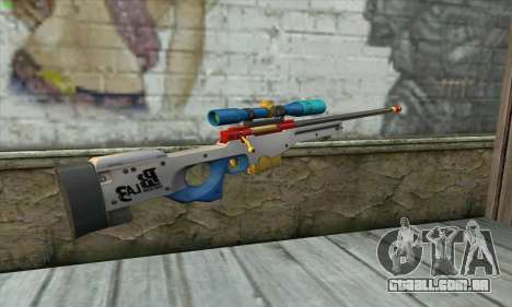Point Blank L115A1 Latin 3 para GTA San Andreas segunda tela