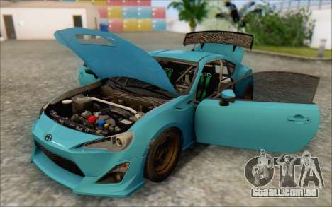 Scion FR-S 2013 Beam para as rodas de GTA San Andreas