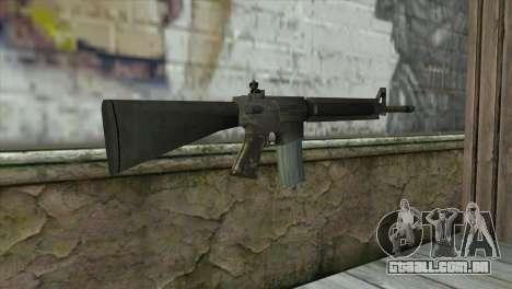 M16A4 Assault Rifle para GTA San Andreas segunda tela