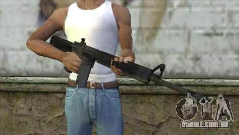 M16A4 Assault Rifle para GTA San Andreas terceira tela