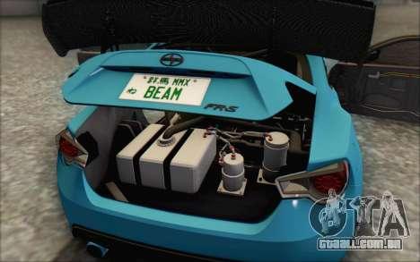 Scion FR-S 2013 Beam para GTA San Andreas