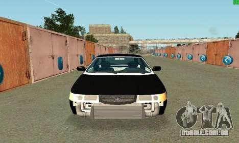 VAZ-21123 TURBO-Cobra para GTA San Andreas esquerda vista