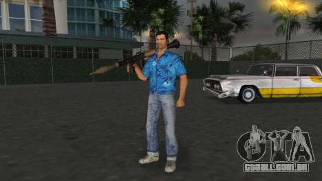 Ruskin RPG-7 para GTA Vice City terceira tela