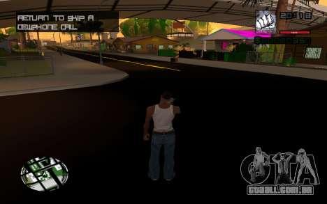 C-HUD by Smoke para GTA San Andreas terceira tela