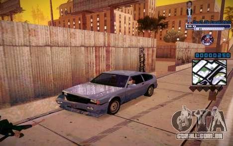 C-HUD One Of The Legends Ghetto para GTA San Andreas segunda tela