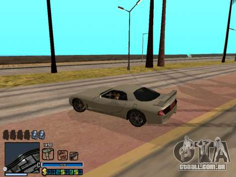 C-HUD By Stafford para GTA San Andreas nono tela