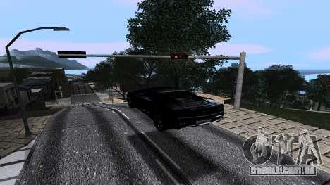 New Roads v2.0 para GTA San Andreas segunda tela