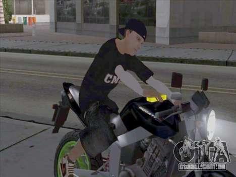 Pele trabalhadores da mídia para GTA San Andreas segunda tela