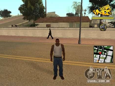 Vagos Gang HUD para GTA San Andreas