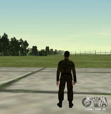 Caça do Exército russo v 2.0 para GTA San Andreas por diante tela