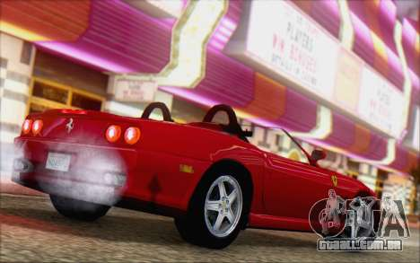 Ferrari 550 Barchetta para GTA San Andreas esquerda vista
