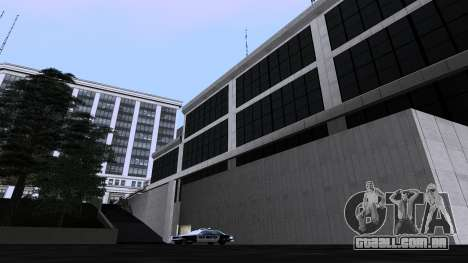 Novas texturas SFPD para GTA San Andreas por diante tela