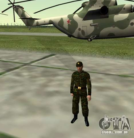 Caça do Exército russo v 2.0 para GTA San Andreas quinto tela