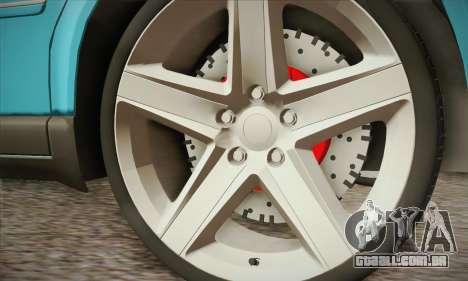 Volkswagen Passat para GTA San Andreas vista direita