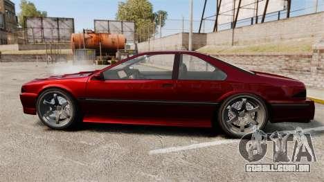 Vapid Fortune GTRS para GTA 4 esquerda vista