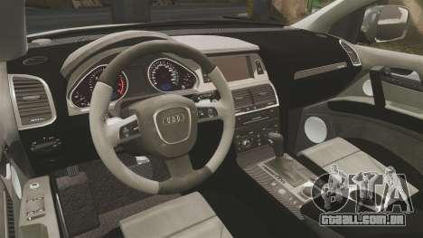 Audi Q7 FCK PLC [ELS] para GTA 4 vista lateral