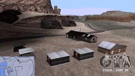 Atualizado snake farm para GTA San Andreas por diante tela