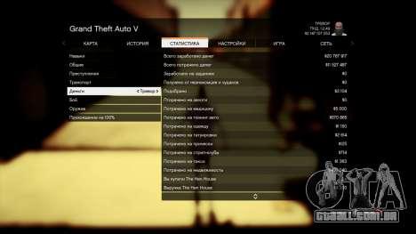 Salvar GTA 5 100% e 1 bilhão de PS3 para GTA 5