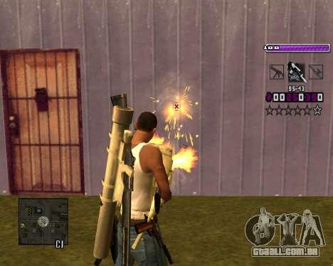 C-HUD Lite v3.0 para GTA San Andreas sexta tela