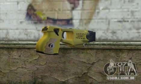 Taser Gun para GTA San Andreas segunda tela