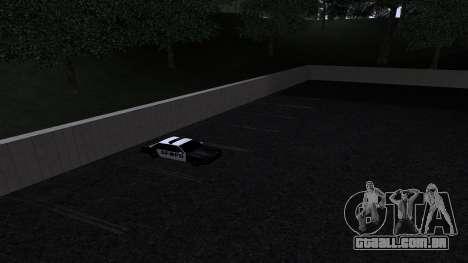 Novas texturas SFPD para GTA San Andreas quinto tela