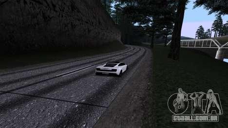 New Roads v2.0 para GTA San Andreas nono tela