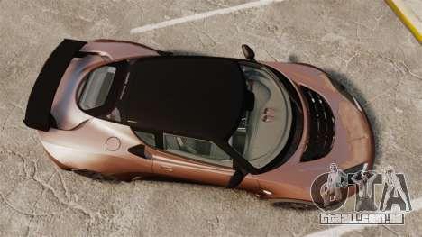Lotus Evora GTE Mansory para GTA 4 vista direita