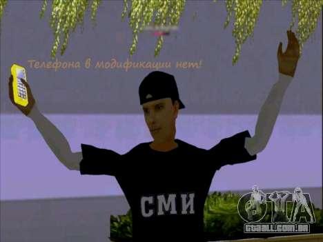 Pele trabalhadores da mídia para GTA San Andreas terceira tela