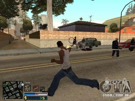 C-HUD By Stafford para GTA San Andreas sexta tela