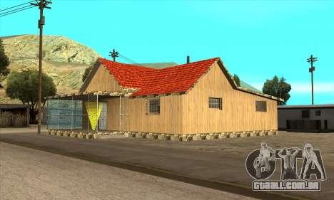 Nova casa do Sijia em El Quebrados v1.0 para GTA San Andreas