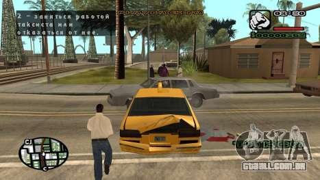 Nova fonte V.3 para GTA San Andreas para GTA San Andreas oitavo tela