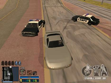 C-HUD By Stafford para GTA San Andreas décimo tela