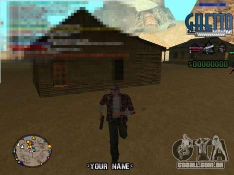 C-Hud Ghetto para GTA San Andreas segunda tela