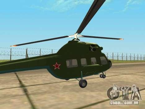 Mi 2 militares para GTA San Andreas vista direita